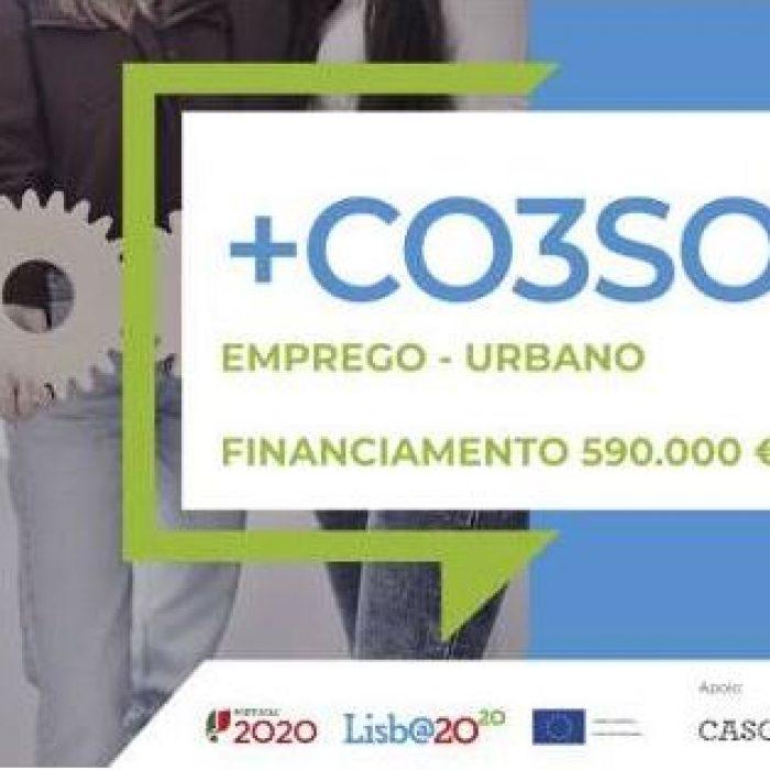 Abriram as candidaturas ao +CO3SO Emprego – Urbano para Alcabideche e São Domingos de Rana