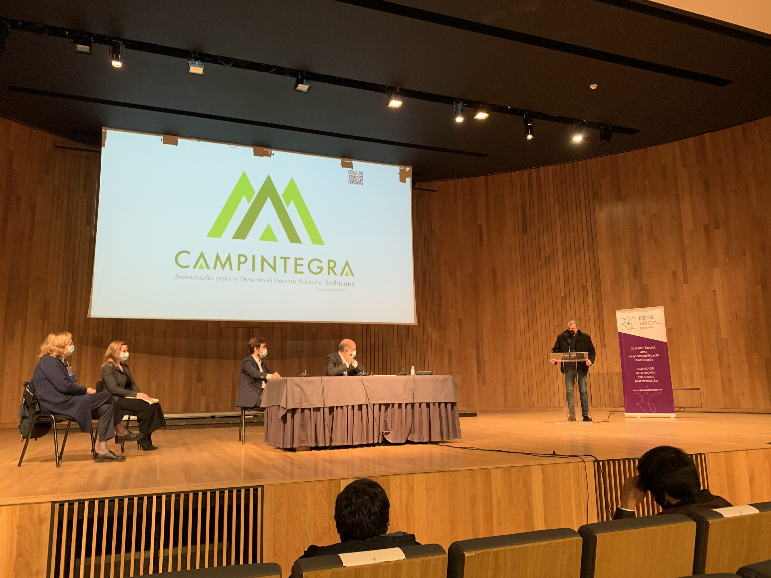 Membro da Campintegra apresenta a organização recém aderente à Rede Social Cascais
