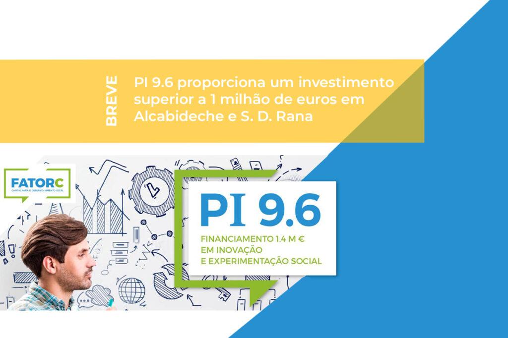 PI 9.6 - Projetos Inovadores e/ou Experimentais na Área Social
